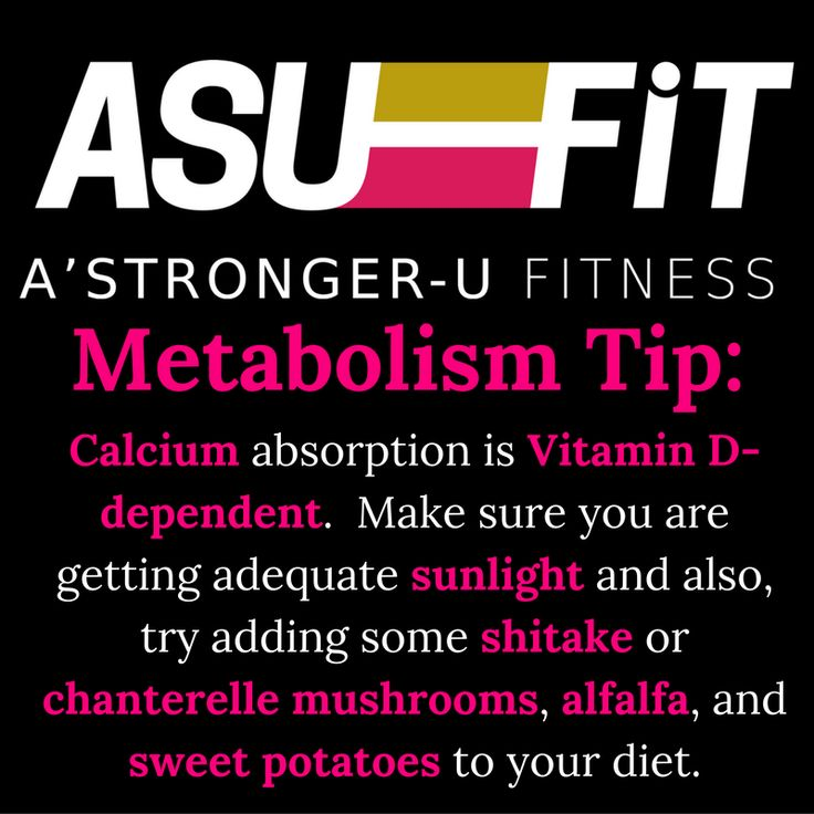 """#Calcium absorption is #VitaminD dependent.  Make sure you are getting adequate sunlight and also try adding some #shitake or #chanterelle #mushrooms, #alfalfa, and sweet potatoes to your diet.    #BecomingAStrongerU    Learn about this and more during the#MBMP16""""Create Your Own Metabolism Based Weight Loss Meal Plan"""" Webinar on 10/25/16 at 7PM CST.    Totally FREE and Totally VIRTUAL.    Register Here:    #Metabolism #Weightloss #WAHM #Nutrition #Moms #diet #Nutritionist…"""