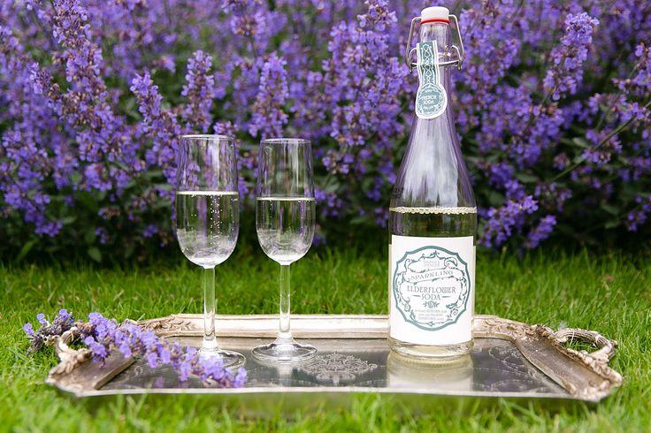 Non-alcoholic drinks   Elderflower soda