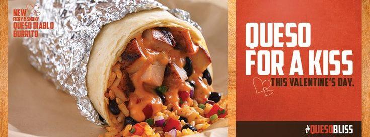 qdoba valentine's day kiss free burrito