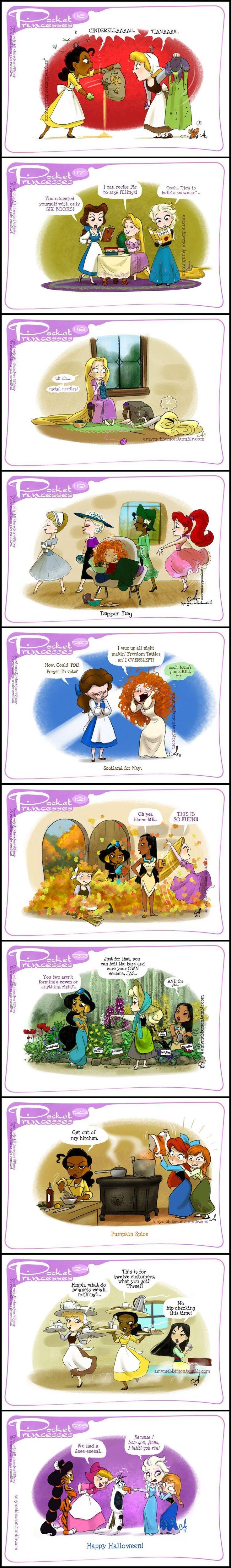 Pocket Princesses (Part 12) by Amy Mebberson