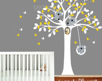 Sticker chambre denfant Wall Decal mur Stickers par secretofthecat