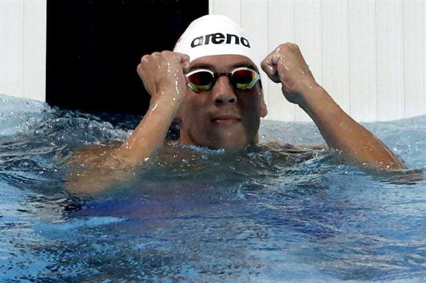 ROXANA REY: Federico Grabich, histórico: fue bronce en los 100...