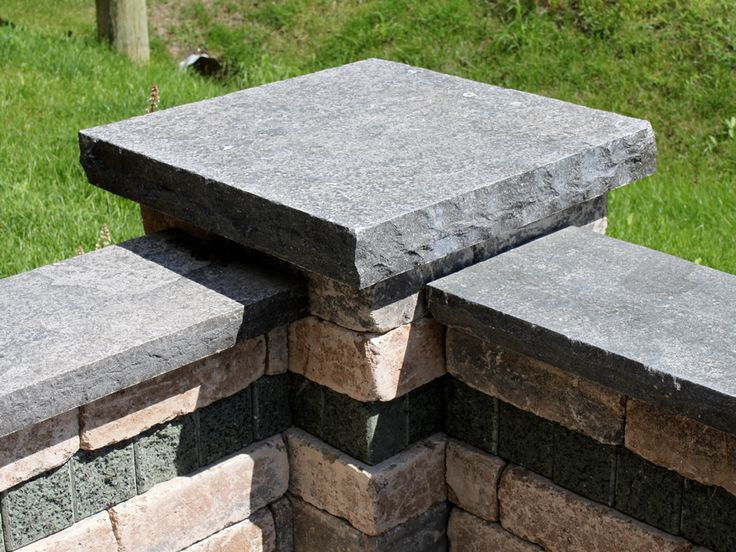 Natural Stone Pillars Caps : Pier caps ‹ oakville stone the highest quality natural