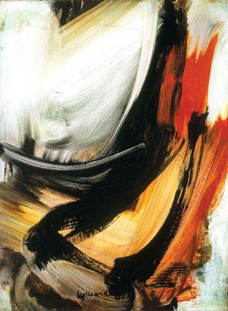 The Cbus Collection of Australian Art | Peter Upward – Orange accent II