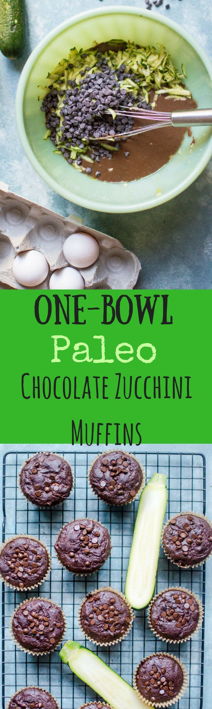 These healthy muffins are so amazing, easy and delicious, you wouldn't know they are Paleo AND have zucchini hiding inside them!   Gluten free, dairy-free, grain-free