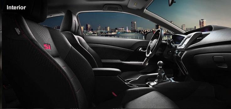 2012 Honda Civic Si Coupe - Interior Features - Official Honda Website