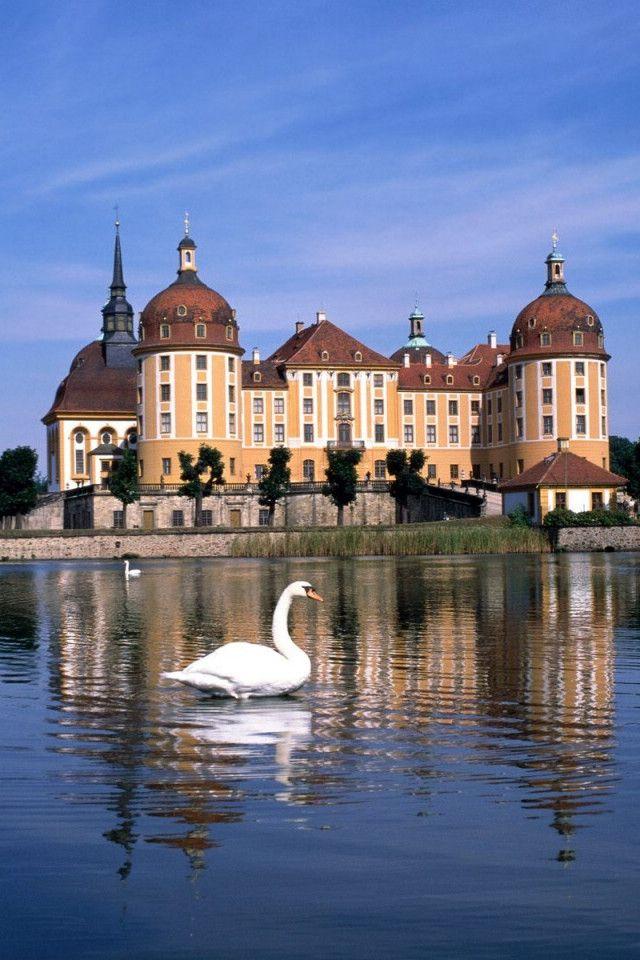 Schloss Moritzburg (Moritzburg Castle), Dresden, Saxony, Germany - Near Allie's house!