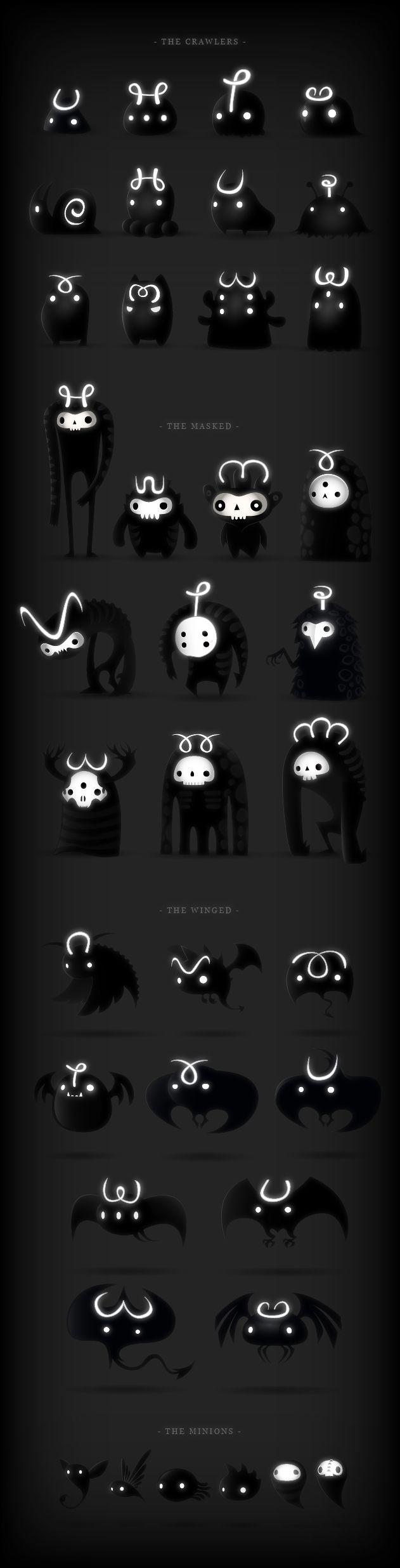 Darklings on Behance