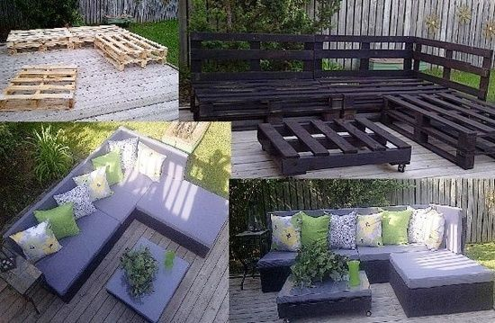 outdoor furniture is so expensive, and this is so awesome!