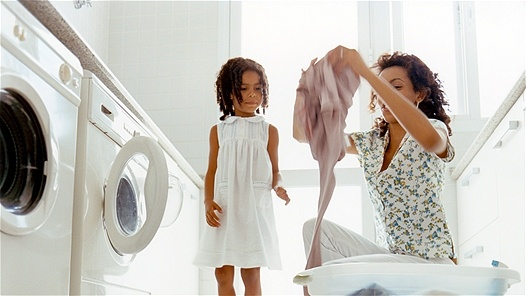 Toxic hotspot in the home: laundry room:dryer sheets - componenets of synthetic fragrances, including benzyl acetate, benzyl alcohol & terpines are toxic & carcinogenic.  Tip: use essential oils with water & mist solution directly onto bedding after they come out of the dryer