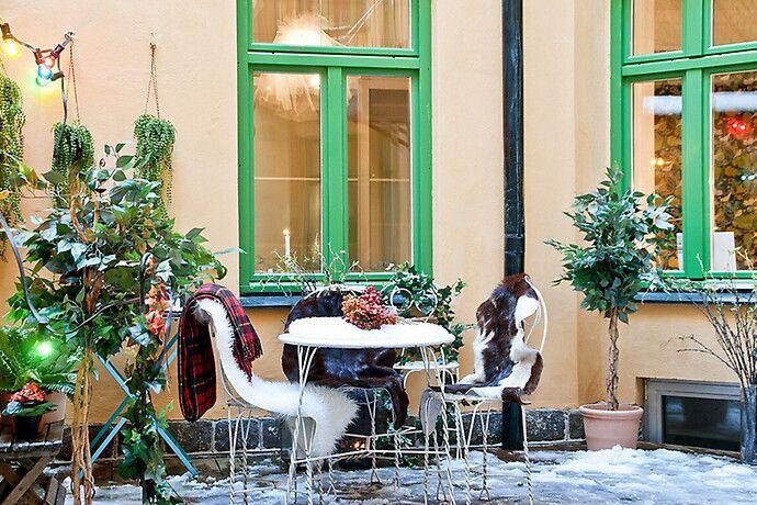 Balkong/uteplats - Kungsholmen | Hemnet Inspiration