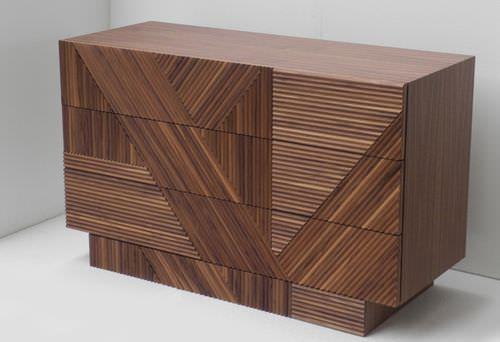 Moderne Kommode / Holz / aus Massivholz / braun STRIPES by Ferruccio Laviani Emmemobili Tagliabue Daniele di L. Tagliabue