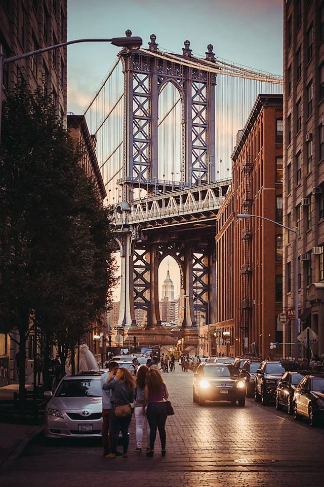 NYC |Dumbo (Down Under The Manhattan Bridge Overpass) - a must visit and a great reason to walk across the Brooklyn Bridge