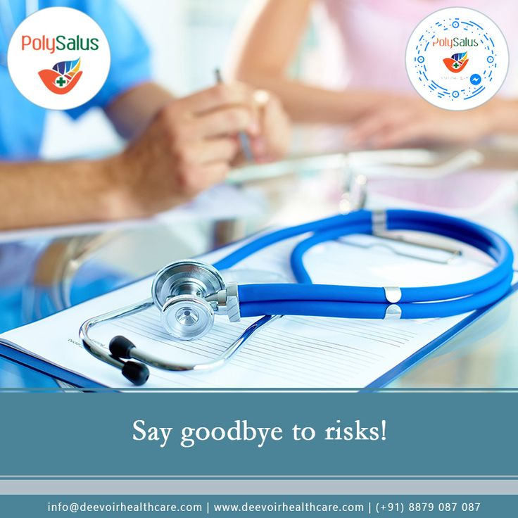 #Our mission in life is to #avoid risk. #Polysalus #dEEVOiR #HealthCare