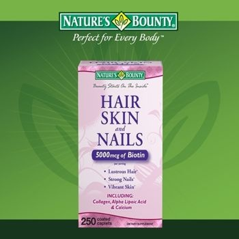 Nature S Bounty Extra Strength Hair Skin And Nails Costco