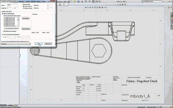 Solidworks+Technische Zeichnung Teil 1.avi – Watch Video  #solidworks #technisch…