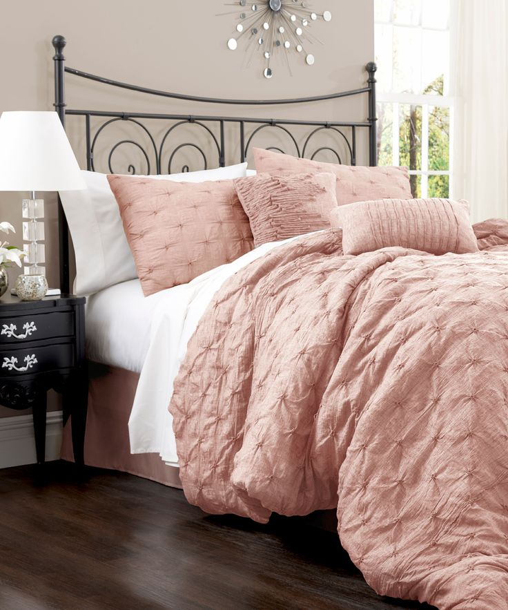 (blush) Peach Lake Como Comforter Set                                                                                                                                                     More