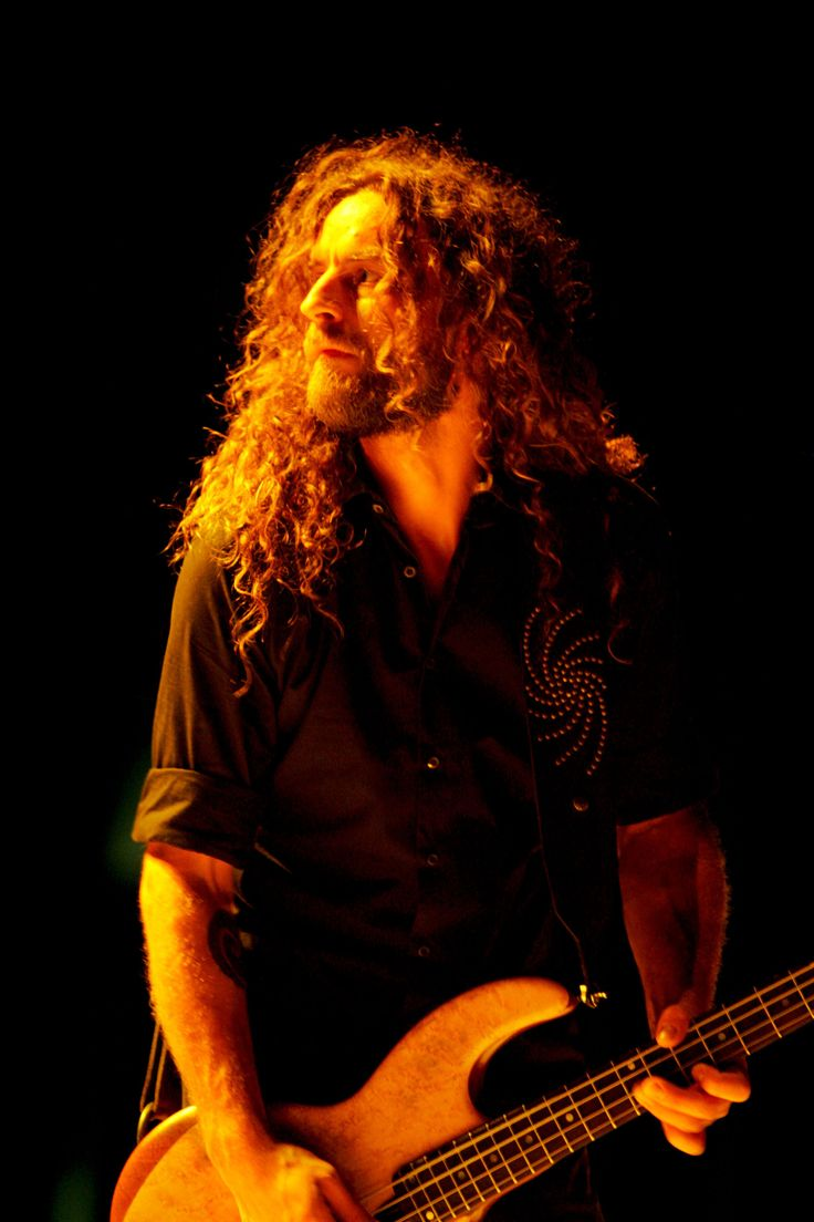 Not the best shot of the guitar itself, but this man and his sound have helped develope my own style and his Wal guitars just have such a beautiful sound.  Justin Chancellor ~ Bassist for Tool