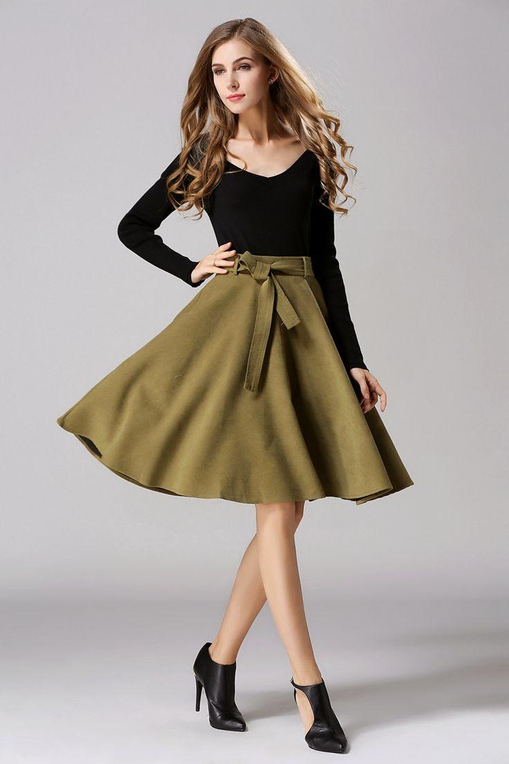 女性のファッションカジュアル, レディースファッション, 冬のファッション, 女性のファッション, ホットスカート, カジュアルなスカート, 包帯スカート, Plain Belt,