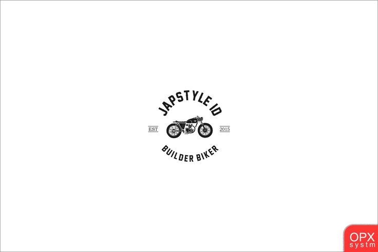 motorcycle logo vintage