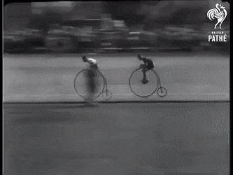 nice Penny farthing race, 1928