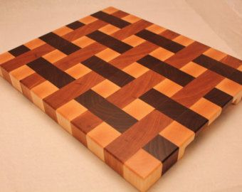 3D End Grain Wood Cutting Board Tumbling by WesLodesWoodworks