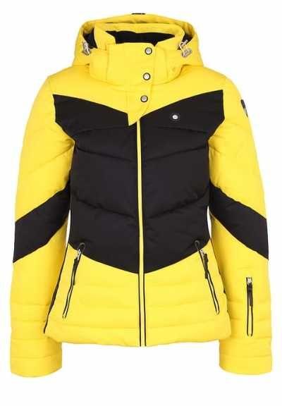 Icepeak Carrie Chaqueta De Esquí Pale Yellow abrigos y chaquetas Yellow Pale Icepeak Esquí Chaqueta Carrie Noe.Moda
