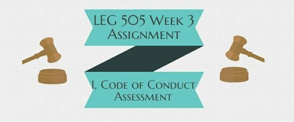 LEG 505 Week 3 Assignment 1, Code of Conduct Assessment The recent emphasis on ethics in government contracting requires contractors to avoid any conduct that even appears to be unethical. Imagine you are a former contracting officer (CO) turned contractor (you choose your area of expertise) and you just created a new contracting firm. Write a four to five (4-5) page paper in which you: 1. Provide an explanation of the specific goods and / or services the new contracting firm will provide.