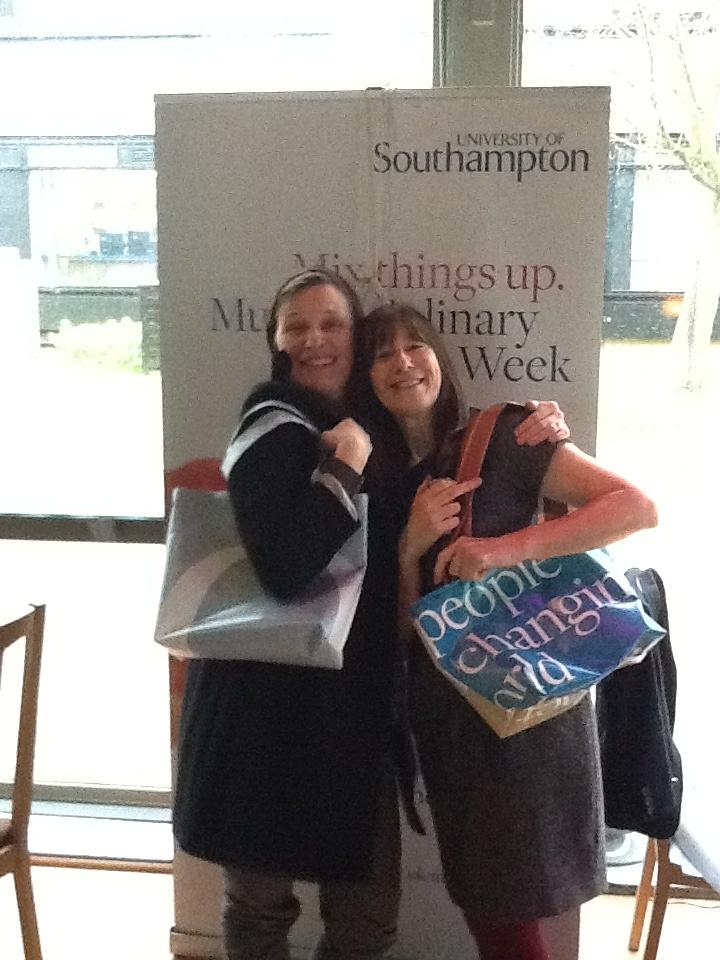Mylene Ployaert and Frances Clarke become Green Shoppers