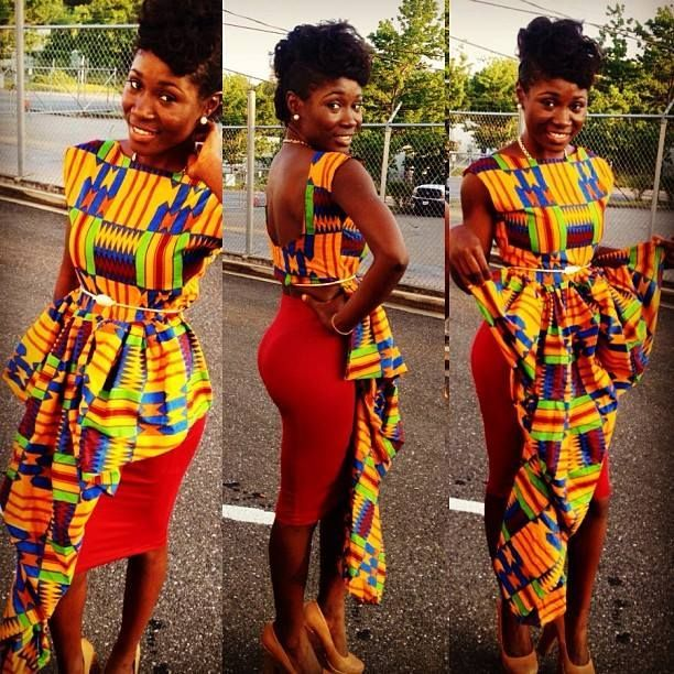 all latest african dress designs | Best African Print Dress Designs 2014 0018