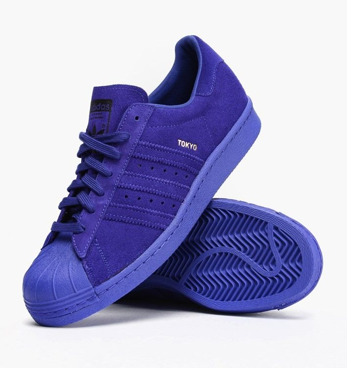 Adidas Superstars Blau