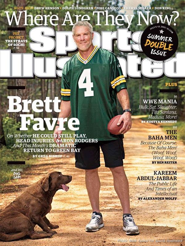 Brett Favre - this is a great article. Laughed out loud reading it:)