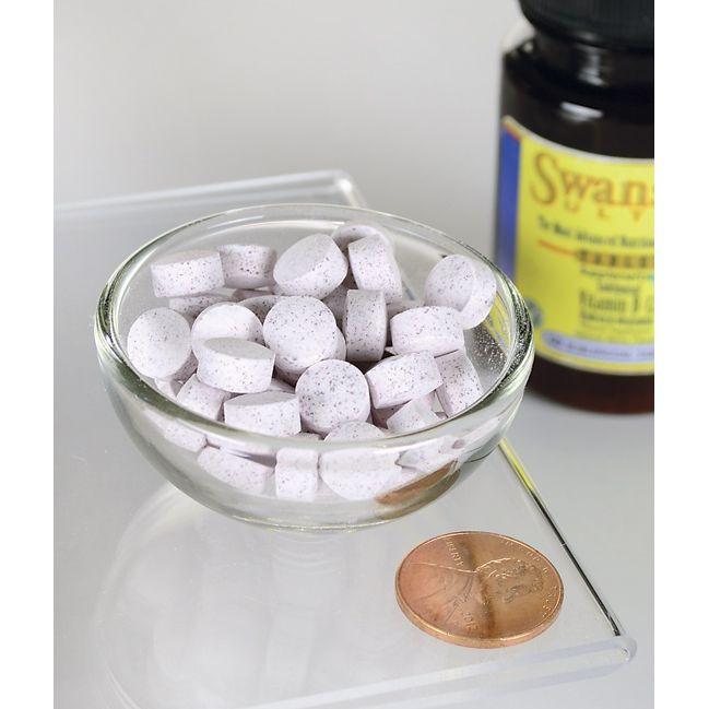Swanson UltraSupplemelts Sublingual Vitamin B-12 Close Up
