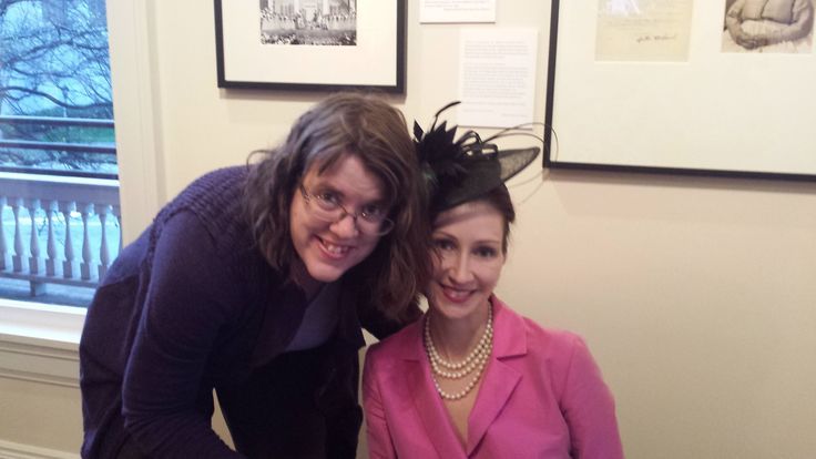 Sara Gruen and I at Margaret Mitchell House in Atlanta Georgia.  She was here to discuss her new book.