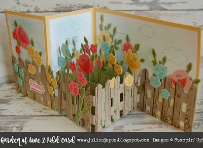Julie Kettlewell - Stampin Up UK Independent Demonstrator - Order products 24/7: Garden of Love