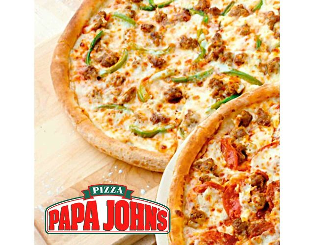 Free Large 1-Top Pizza W/ Purchase of Any Large or XL Pizza Free W/P (papajohns.com)