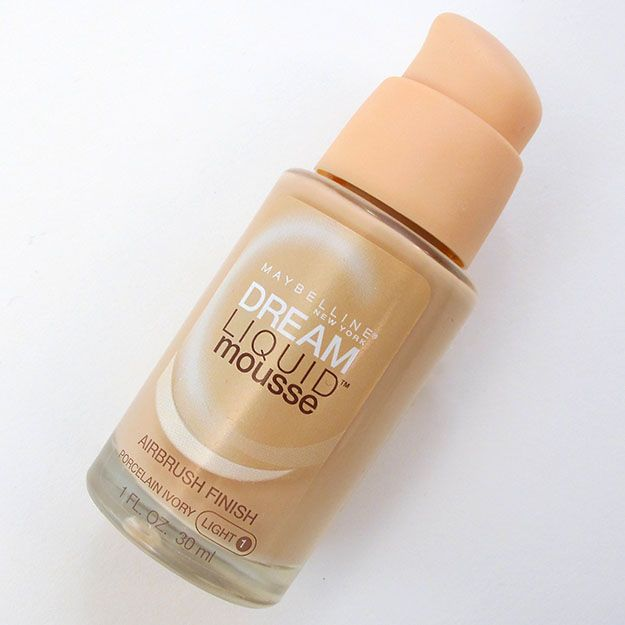 Maybelline Dream Liquid Mousse Foundation Review + Demo Photos