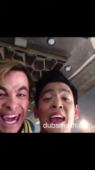 TickleSwitch — amusementforme:  Star Trek cast dubsmash...