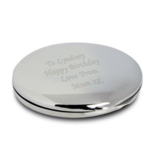 Personalized Engraved Compact Mirror