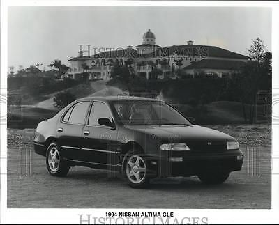 Luxury Cars: 1994 Press Photo Nissan Altima Gle 1994, Promoted As Affordable Luxury Car. BUY IT NOW ONLY: $9.99