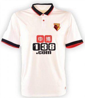 Watford FC Away 16-17 Season White Soccer Jersey [I508]