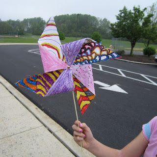 2nd Grade Pinwheels