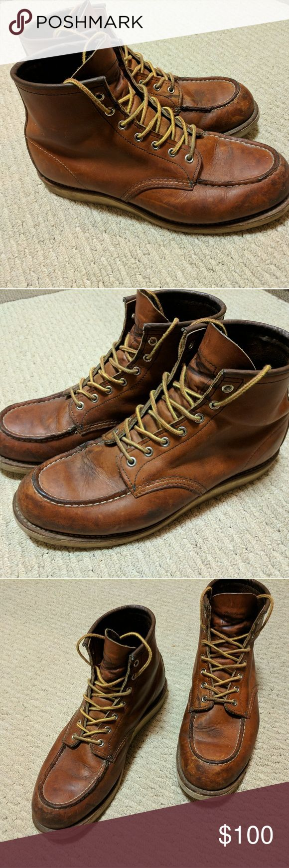 Red wings moc heritage boots Size 12D Red Wing Shoes Shoes Boots