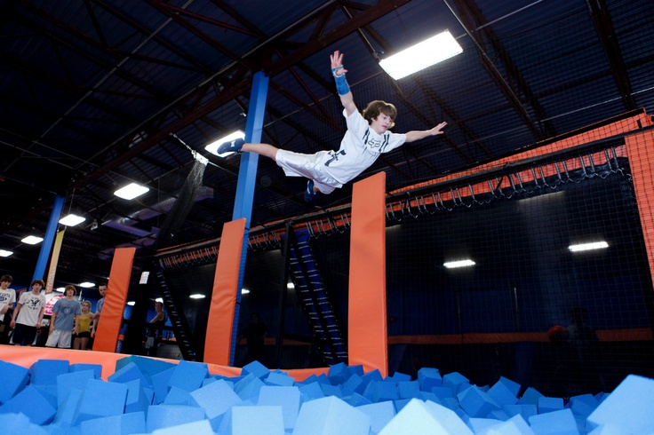 In Indianapolis, IN . and Plainfield , IN . Sky zone