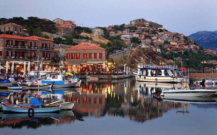 VISIT GREECE| Molivos in #Mytilini #visitgreece #greece