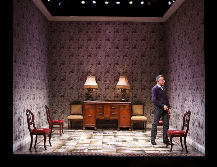 The Patsy. Transport Group at The Duke on 42nd. Scenic design by Dane Laffrey. 2011