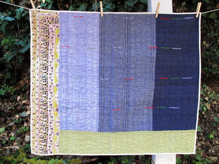from the talented folks at Counterpane  BANDIT QUILT