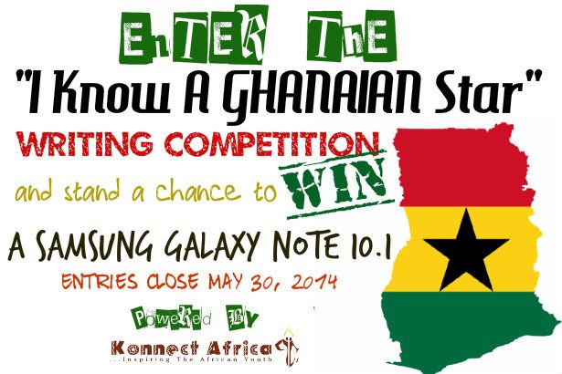 The 'I Know a Ghanaian Star' Online Writing Competition is Live!