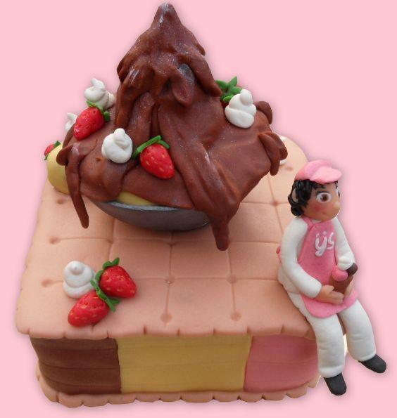 Ice dessert cake   - IJs dessert taart