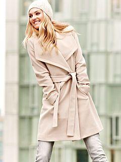 MK |  Belted Wrap Coat